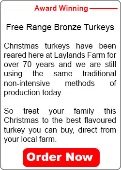 Award Winning Christmas Turkeys Order Now